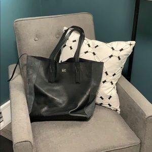 Michael Kors leather/suede tote